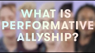 Download What Is Performative Allyship? Video