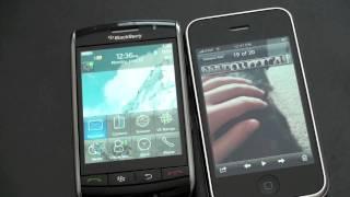 Download iPhone 3GS vs. Blackberry Storm Video