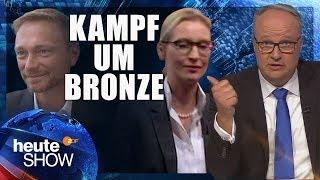 Download FDP oder AfD - wer wird drittstärkste Kraft im Bundestag?   heute-show vom 08.09.2017 Video