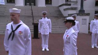 Download NROTC Midshipmen Commissioned by Chief of Naval Operations Video