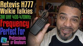 Download Retevis H777 Walkie Talkies 🔊 : LGTV Review Video