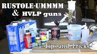 Download EASY: Spray rustoleum with an HVLP | Forget those aerosol cans! Video