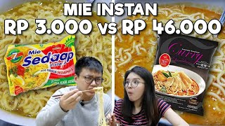 Download MIE INSTAN RP 3.000 Vs RP 46.000 !! WORTH IT ?? Video