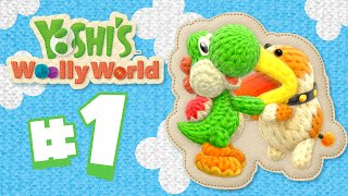 Download Cuteness OVERLOAD!! Yoshi's Woolly World WiiU HD - EP 1 Video