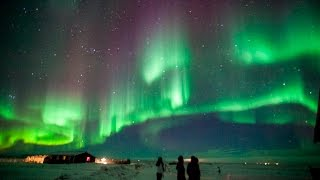 Download Aurora Borealis (Northern Lights) Time Lapse HD Iceland 2016 Video