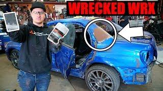 Download Rebuilding a Wrecked WRX Pt. 10 - Bondo/Body prep! Video