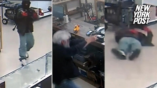 Download Armed Robbers Try To Rob Pawn Shop, Get Shot by Owner | New York Post Video