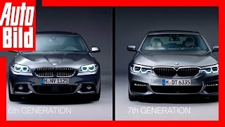 Download BMW 5er - der alte F10 gegen den Neuen G30 (2017) /English Video
