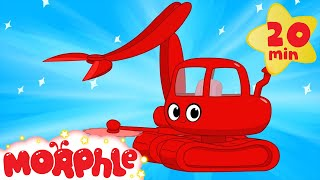 Download My Magic Logging Machine Morphle - kids construction vehicles (+ police car, crane, ambulance) Video