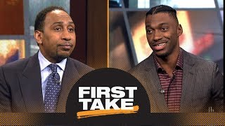 Download Stephen A. Smith asks Robert Griffin III questions about NFL career | First Take | ESPN Video