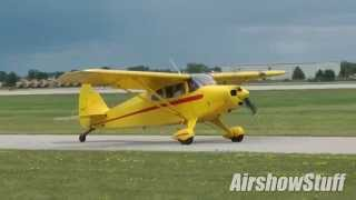 Download Gusty Crosswind Landings! EAA AirVenture Oshkosh 2014 Sunday Arrivals Compilation (Part 1) Video