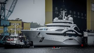 Download Launch of Project Jupiter superyacht at Lürssen Video