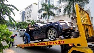 Download [TNTBros] Vật Vã Vận Chuyển Rolls-Royce Wraith Tại Sài Gòn | Siêu Xe Việt Nam Video