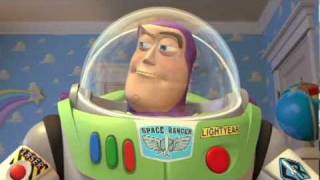 Download Pixar: Toy Story - movie clip - Buzz Lightyear Arrives! (Blu-Ray promo) Video