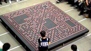 Download 2011 All Japan micromouse contest: BengKiat Half-size mouse search run Video