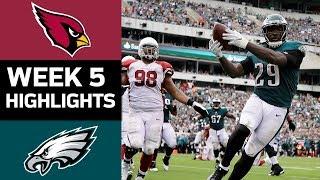Download Cardinals vs. Eagles | NFL Week 5 Game Highlights Video
