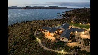 Download The Iconic Sea Wedge Estate in White Beach,Tasmania, Australia Video
