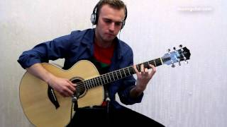 Download massive attack - teardrop ( guitar cover by Alexey Nosov ) Video