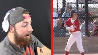 Download REACTING TO MY FIRST EVER BASEBALL GAME! (SO FUNNY) Video