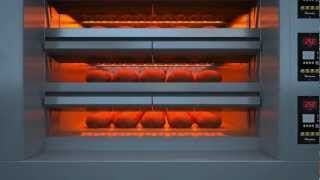 Download Forno industriale pane Video 3D Video