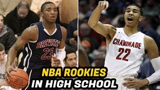 Download NBA Rookies When They Played High School Basketball! (Jayson Tatum, Donovan Mitchell, Lonzo Ball) Video
