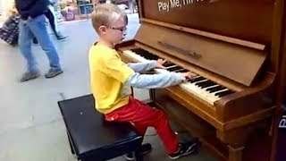 Download Top 5 AMAZING KIDS Piano Street Performances Videos || AWESOME Video