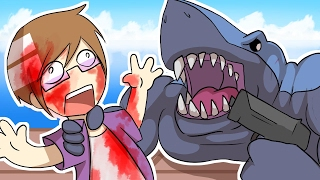 Download THE TRUTH BEHIND THE SHARK! | Raft + Animation Video