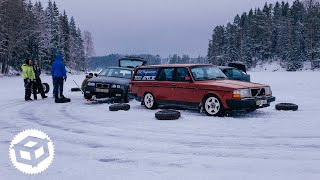 Download Ice Drifting on a Snowy Frozen Lake and WRC Sweden   Juicebox Unboxed #31 Video