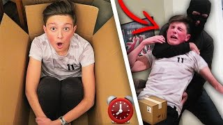 Download MAILING MYSELF IN A BOX FOR 24 HOURS GONE WRONG! 📦😱 Video