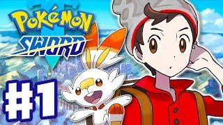Download Pokemon Sword and Shield - Gameplay Walkthrough Part 1 - Galar Region Intro! (Nintendo Switch) Video