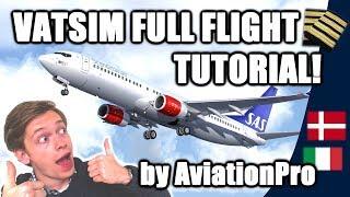 Download ✈️🌎 VATSIM Full Flight Tutorial from A to Z: Copenhagen to Milan! [VATSIM Tutorials 2017 - #10] Video