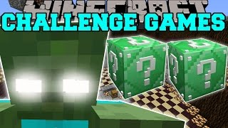 Download Minecraft: ZOMBIE TITAN CHALLENGE GAMES - Lucky Block Mod - Modded Mini-Game Video