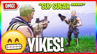 Download A VERY Weird Fortnite Teammate... (Funny Random Duos) Video