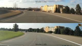 Download Model S acceleration: 60 vs. 85 Video
