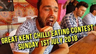 Download Chilli Eating Competition Sunday 1st July 2018 Great Kent Chilli Festival Video