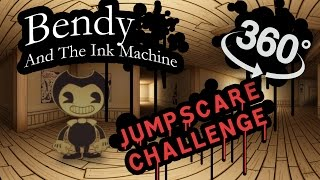 Download Bendy and the Ink Machine 360: Jumpscare Time! Video