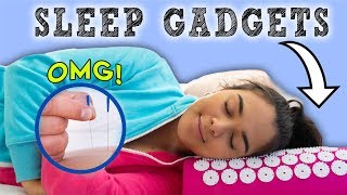Download How to Fall Asleep FAST When You CAN'T Sleep! 7 Sleep Gadgets You Should Try! Video