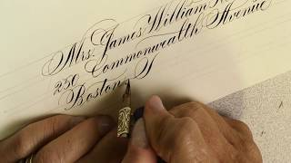 Download Envelope calligraphy - Copperplate & modern script by Suzanne Cunningham Video