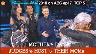 Download Mother's Day Katy Perry Luke Bryan Lionel & Ryan MOMs - FULL SEGMENT American Idol 2018 Top 5 Video