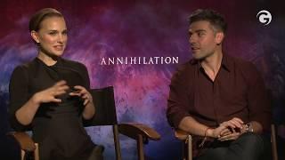 Download Annihilation Interviews: Natalie Portman & Oscar Isaac Explain The Ending Video