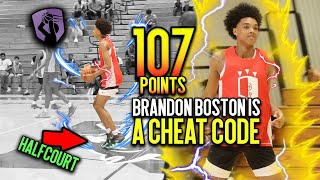 Download Brandon Boston DROPS 107 Points IN ONE DAY & Pulls Up From ANYWHERE!! Best Shooter in THE COUNTRY!! Video