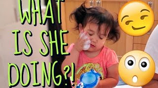 Download WHAT IS SHE DOING?! - May 24, 2016 - ItsJudysLife Vlogs Video