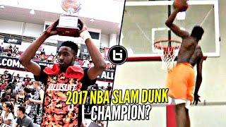Download Derrick Jones Jr 2017 NBA Slam Dunk Contest Winner!? He Hasn't Lost a Dunk Contest YET Video