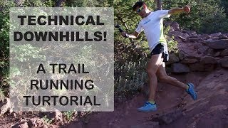 Download Technical Downhill Trail Running Tutorial | Sage Running Technique Tips for mountain-ultra trails Video
