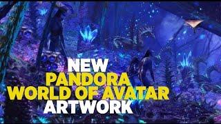 Download NEW Pandora World of Avatar artwork with Na'vi River Journey at Walt Disney World Video