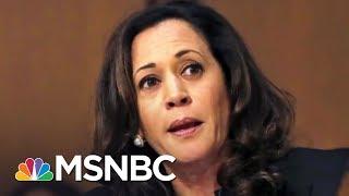 Download Sen. Kamala Harris Reacts To Scolding By GOP Senators   The 11th Hour   MSNBC Video