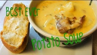 Download How to Make the Best Ever Potato Soup. Ever. Really. Ever. with CookingAndCrafting Video