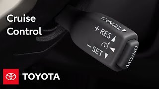 Download Toyota How-To: Cruise Control | Toyota Video