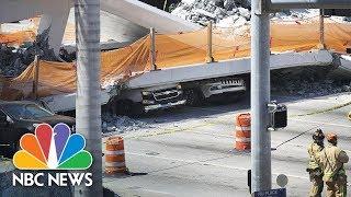 Download Bridge Collapses At Florida International University Near Miami | NBC News Video