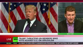 Download Trump threatens to stop aid to UN member states which vote against US Jerusalem move Video